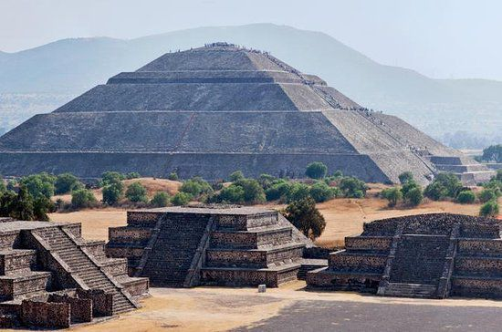 Temples majeurs pyramides Teotihuacan MExico